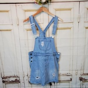 J for Justify Overall Jeans Skirt M